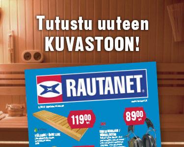 Tutustu uuteen Rautanet tarjouskuvastoon.