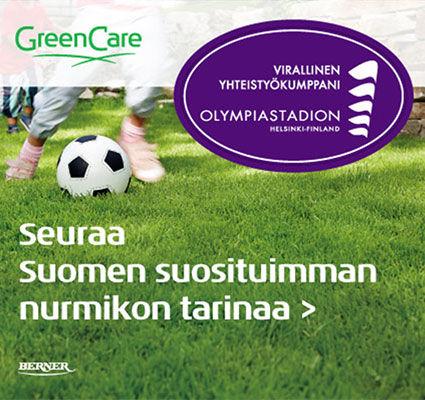 Seuraa Suomen suosituimman nurmikon tarinaa