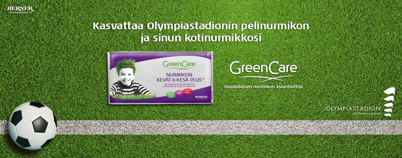 Green Care - Suomalaisen nurmikon asiantuntija
