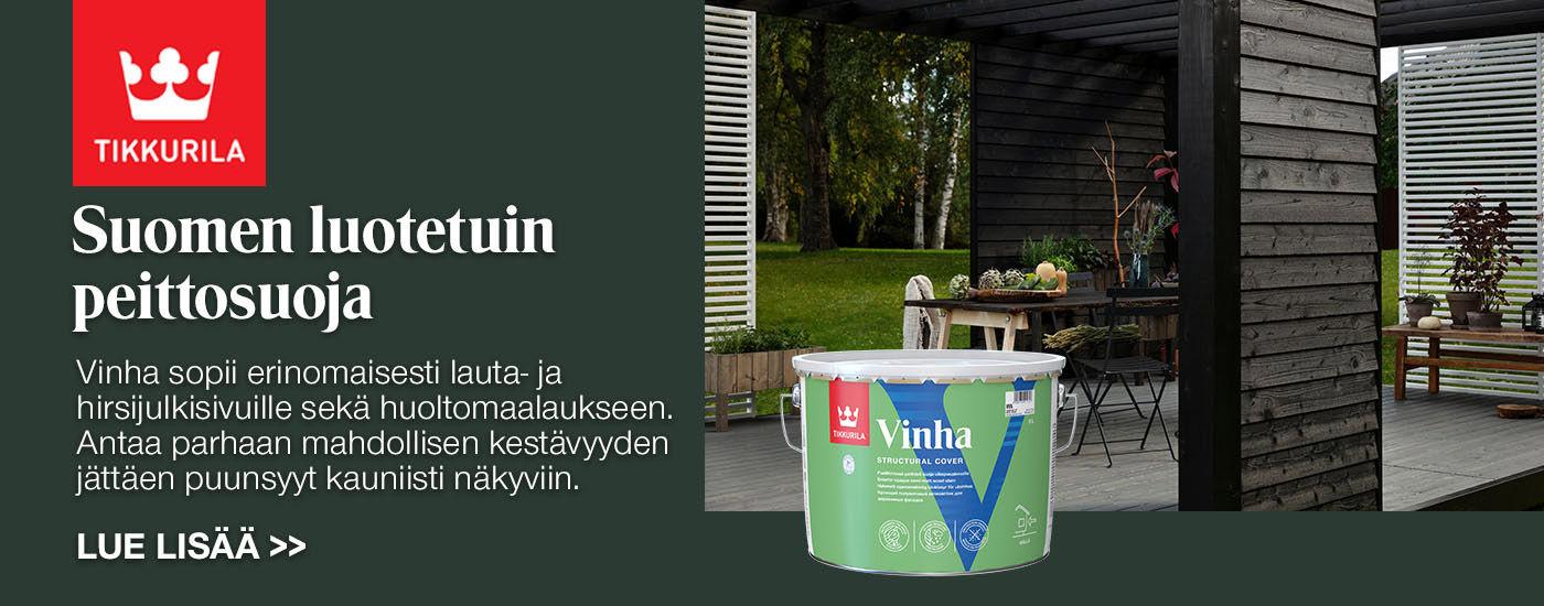 Vinha - Suomen luotetuin peittosuoja