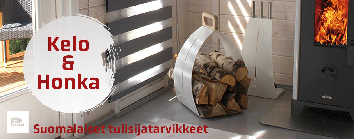Kelo & Honka - Suomalaiset tulisijatarvikkeet