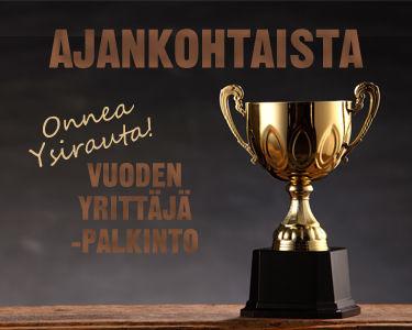 Pieksämäen vuoden yrittäjä Rautanet Pieksämäen yrittäjä Aki Kontro.